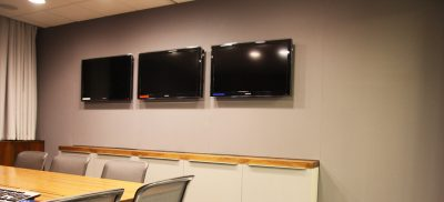 tesco office AV room