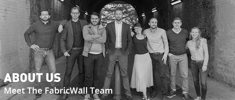 the resonics and fabric wall team photo