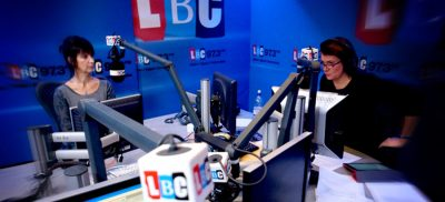 LBC radio acoustic wall